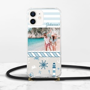 Make Your Own iPhone 12 Clear Acrylic Hard Case with Lanyard