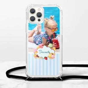個性化相片iPhone 12 Pro 掛繩透明軟殼