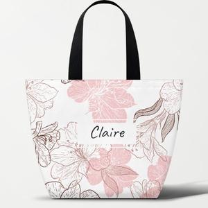 Custom Name Thermal Insulation Lunch Box Handbag