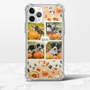커스터마이징iPhone 13 Pro Max Clear Bumper Case(TPU soft case)