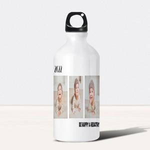 白色运动水瓶, 20oz
