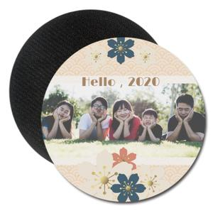Round Rubber Coaster