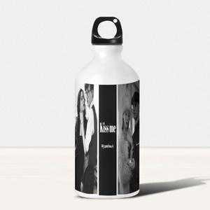 White Sports Water Bottle, 20oz