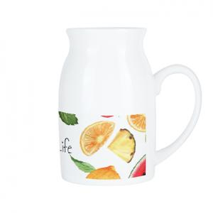 Ceramic Milk Mug, 16oz