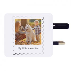 해외여행용 멀티어댑터 (USB 포트 2개)