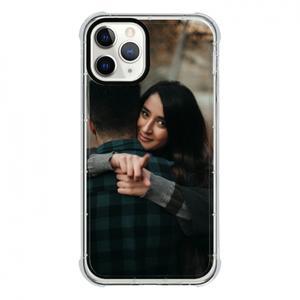 iPhone 11 Pro Clear Bumper Case(Black aperture )