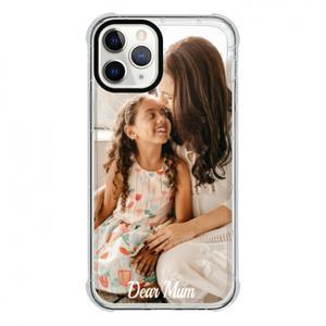 iPhone 11 Proクリアバンパーケース(ブラックアパーチャー)