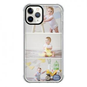 カスタム写真iPhone 11 Proクリアバンパーケース(ブラックアパーチャー)