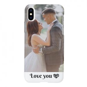 Your Photos iPhone X Glossy Case
