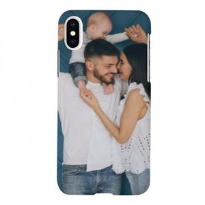 Full Photo iPhone X Glossy Case