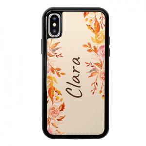 Custom Name iPhone X TPU Dual Layer  Bumper Case