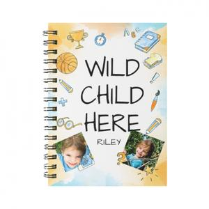 Personalized Spiral Notebook(Small)