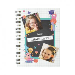 Your Photos Spiral Notebook(Small)