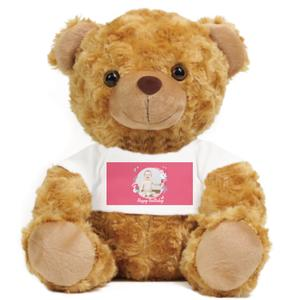 Add Your Photo Teddy Bear Stuffed Animal