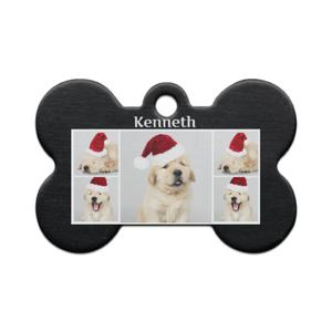 Photo Collage  Bone Shaped Pet Tag