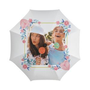 添加相片三折伞
