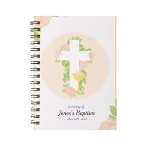 Custom Text Spiral Notebook(Small)