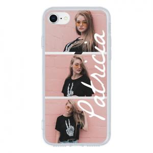 Photo and Name iPhone 8 Clear Case