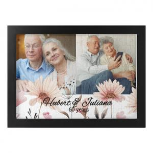 Custom Photo Framed Puzzle (120 Pieces)