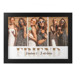 Photo and Name Framed Puzzle (120 Pieces)