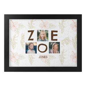 Photo Template Framed Puzzle (120 Pieces)