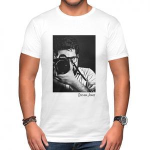 自訂名字相片男裝棉質圓領T恤