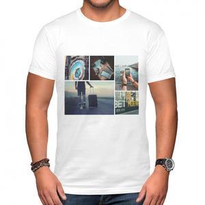 客製貼圖男裝棉質圓領T恤