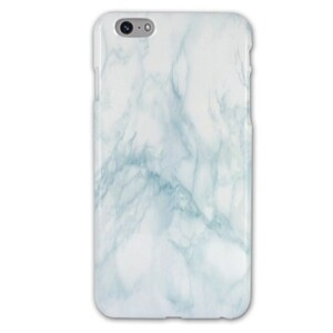 iPhone 6/6s Plus Baby Blue Marble Glossy Case