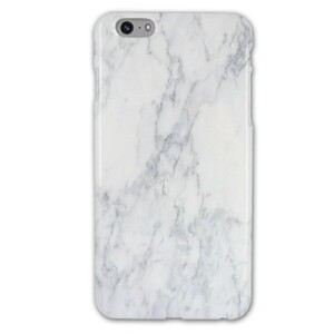 iPhone 6/6s Plus White Marble Glossy Case