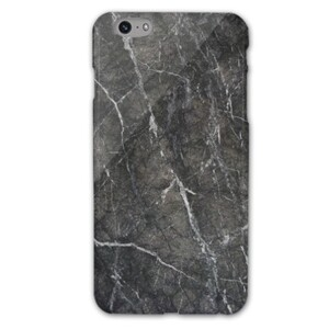 iPhone 6/6s Plus Classic Black Marble Glossy Case