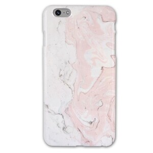 iPhone 6/6s Plus Baby Pink Marble Glossy Case