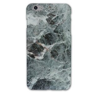 iPhone 6/6s Plus Dark Green Marble Glossy Case