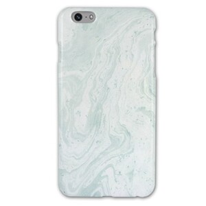 iPhone 6/6s Plus Tiffany Blue Marble Glossy Case