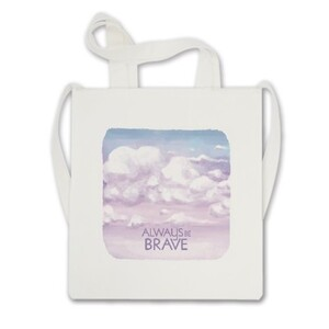Cross Body Tote Bag - Always Be Brave