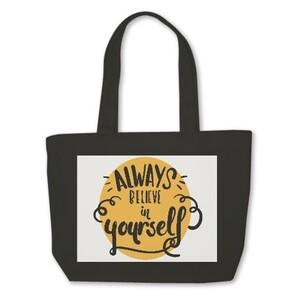 Mini Tote Bag - Always Believe In Yourself