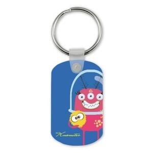 Rectangle Keychain