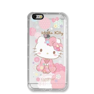 Hello Kitty iPhone 6 Transparent Bumper Case