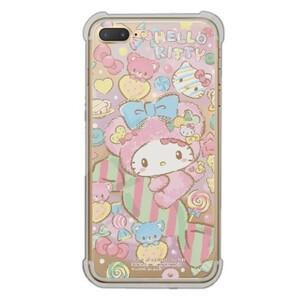 Hello Kitty iPhone 7 Plus Transparent Bumper Case