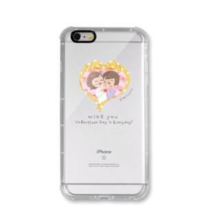 HA Couple - iPhone 6/6s Transparent Bumper Case