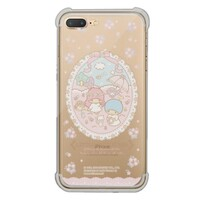 Little Twin Stars iPhone 7 Plus Transparent Bumper Case