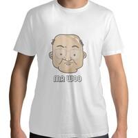 Woo Kwok Hing - Men 's Cotton Round Neck T-Shirt