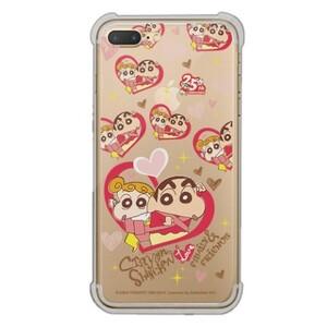 Crayon Shin-chan iPhone 7 Plus Transparent Bumper Case