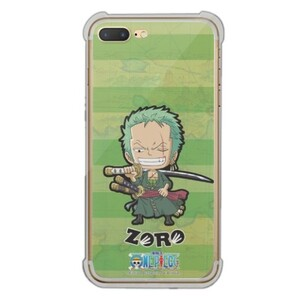 One Piece iPhone 7 Plus Transparent Bumper Case