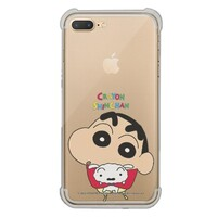 Crayon Shin-chan iPhone 7 Plus Transparent Bumper Case