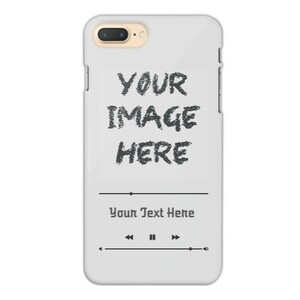 Design Your Own -iPhone 7 Plus Glossy Case