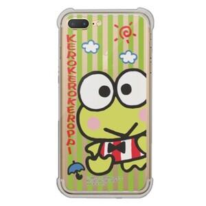 KeroKeroKeroppi iPhone 7 Plus Transparent Bumper Case