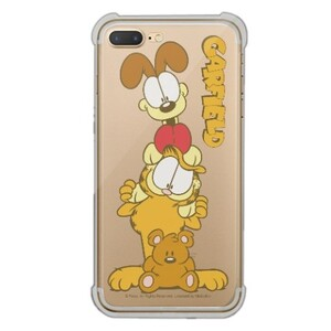 Garfield iPhone 7 Plus Transparent Bumper Case