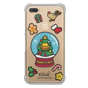B.Duck iPhone 7 Plus Transparent Bumper Case
