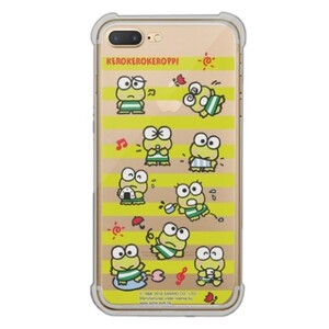 KeroKeroKeroppi iPhone 7 Plus Transparent Bumper Case