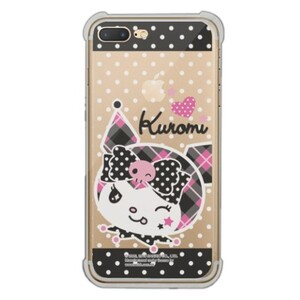 Kuromi iPhone 7 Plus Transparent Bumper Case